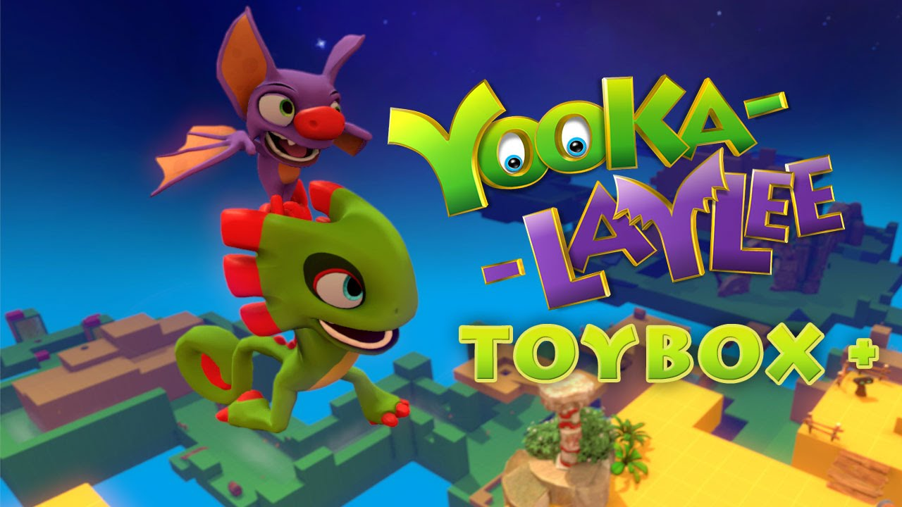Yooka Laylee Toybox Pre Order Is Now Available For Digital Ps4 And Download On Xbox One