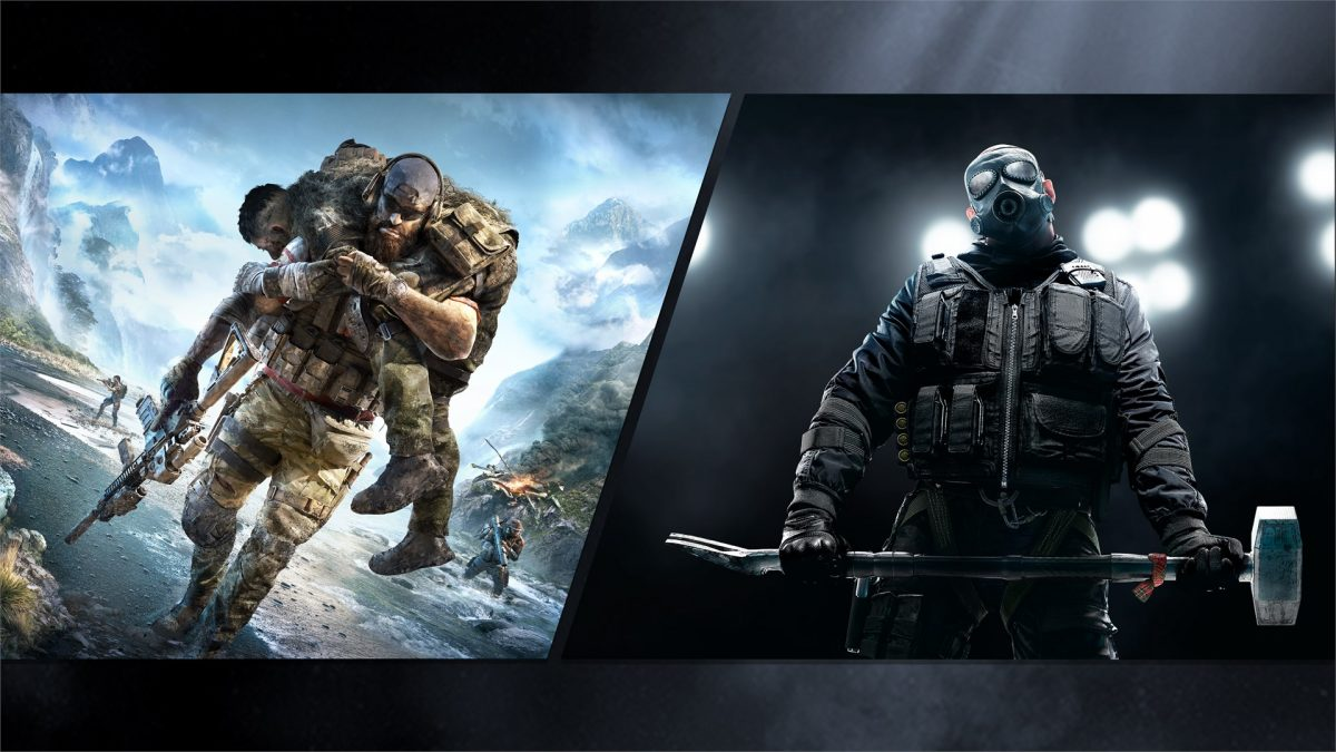 Tom Clancy's Rainbow Six Siege and Tom Clancy's Ghost Recon Breakpoint Bundle