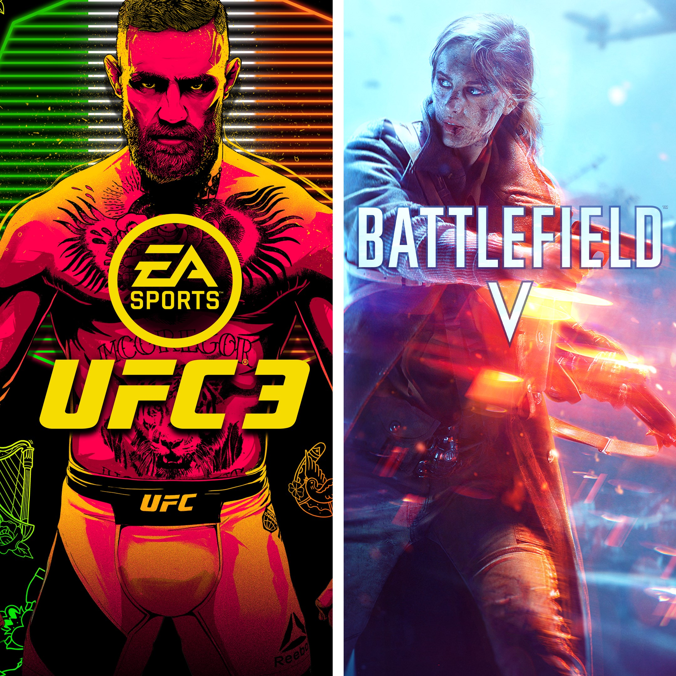 BATTLEFIELD V and EA SPORTS™ UFC® 3 Bundle